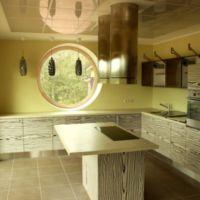 Eramu Kernu vallas köögi sisekujundus